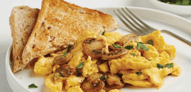 versatile scrambled eggs